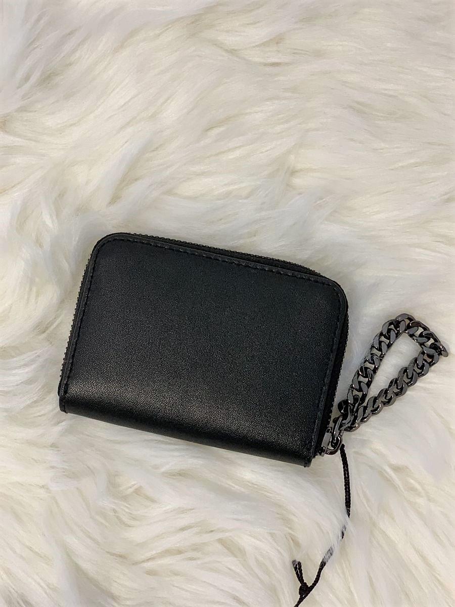 Dámska peňaženka Karl Lagerfeld K/Pura Small Zip Wallet Black