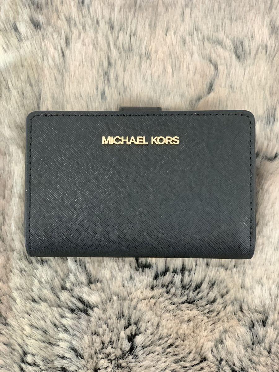 Dámska peňaženka MICHAEL KORS Jet Set Travel Medium Bifold Zip Coin Wallet BG