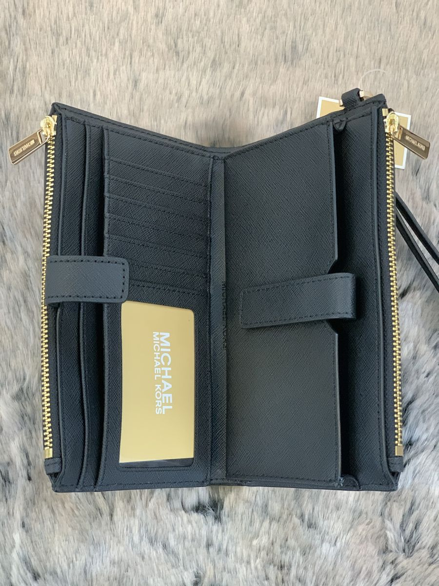 Dámska peňaženka MICHAEL KORS Jet Set Travel Double Zip Wristlet BG