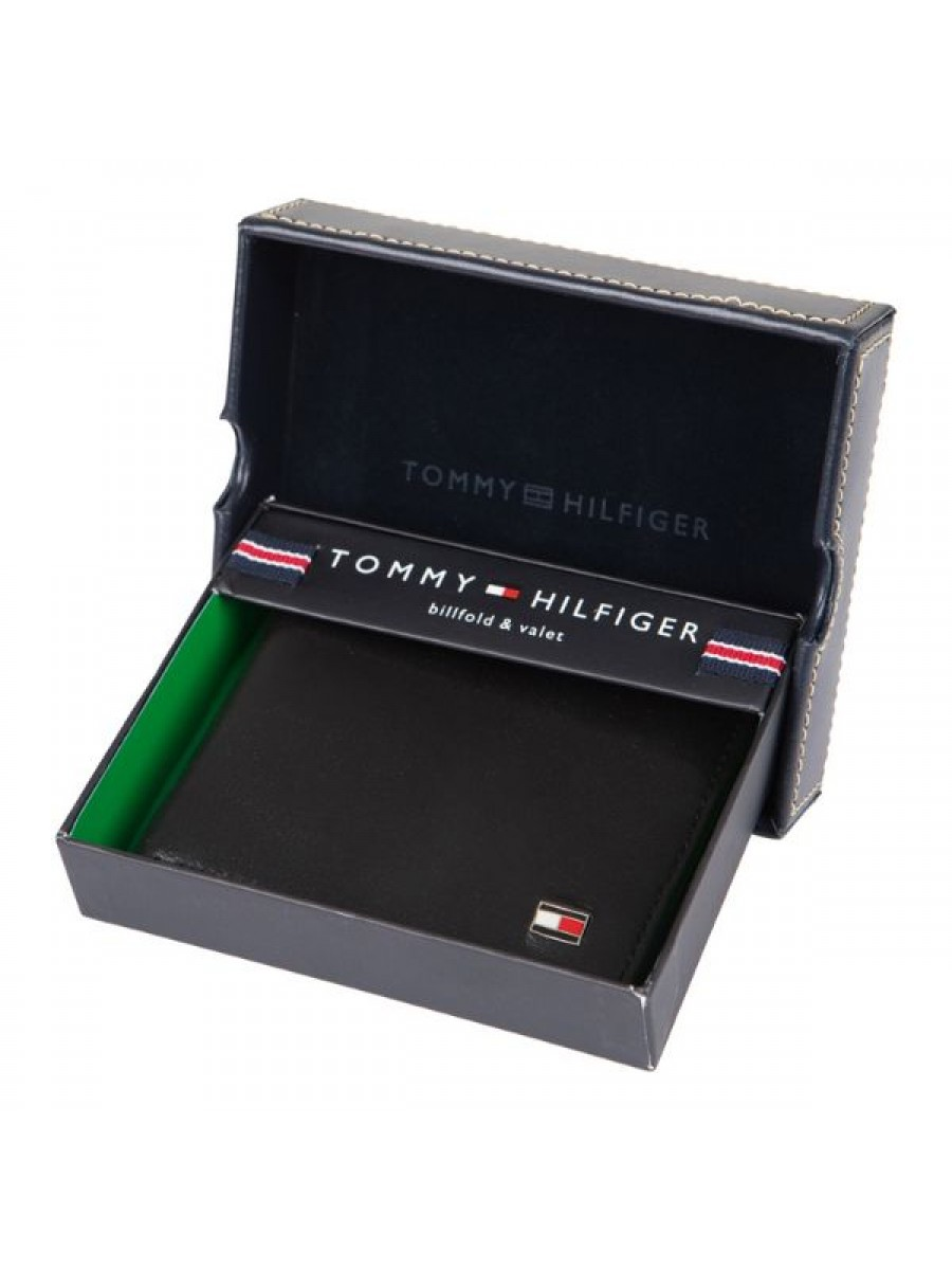 Pánska peňaženka TOMMY HILFIGER 31TL13X008 Black