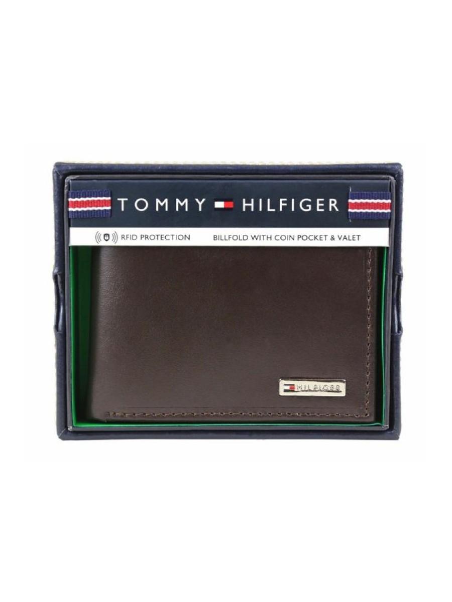 Pánska peňaženka TOMMY HILFIGER 31TL130049 Brown