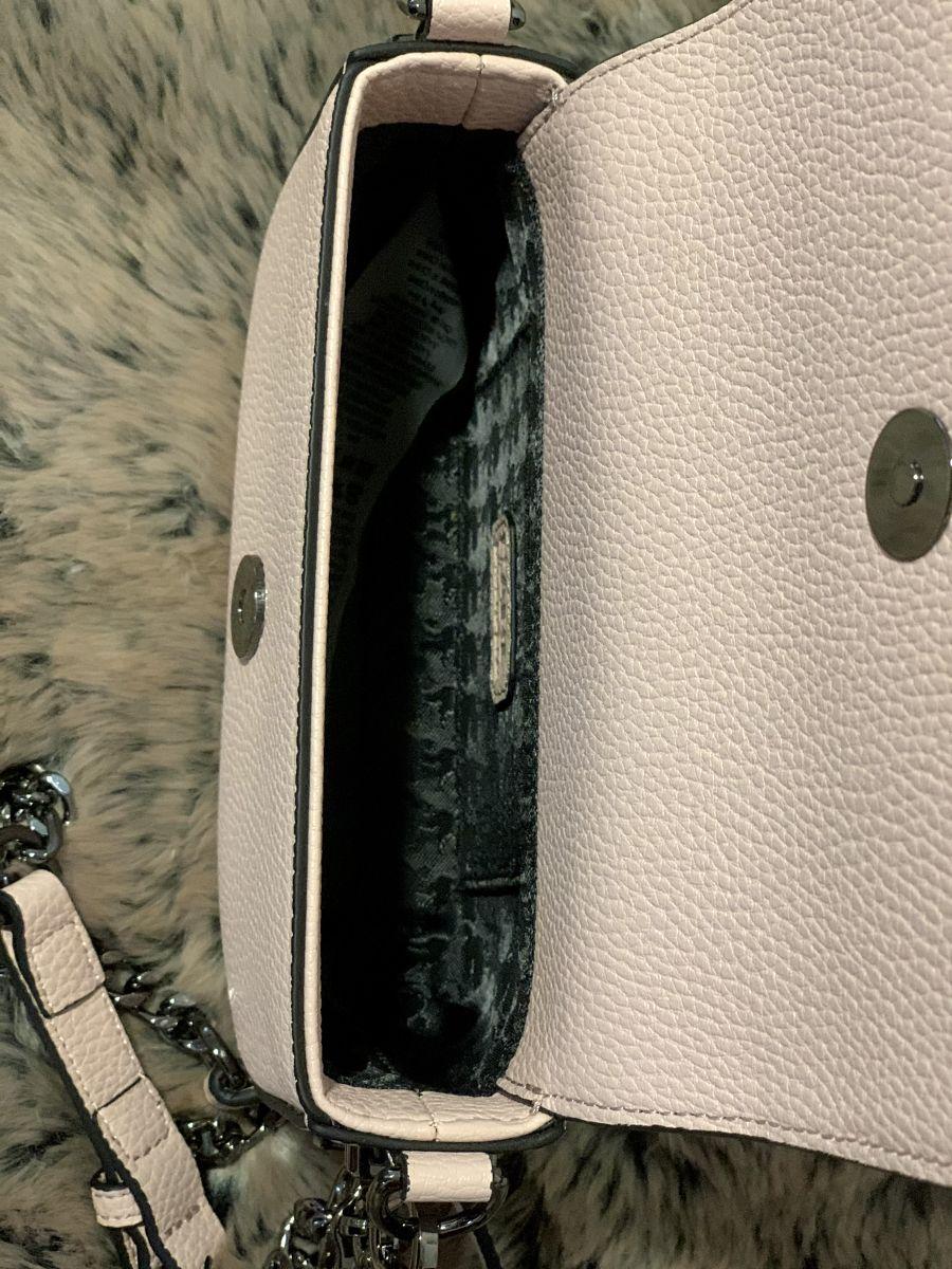 Dámska kabelka Karl Lagerfeld Stone Crossbody Pink Pearl