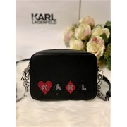 Dámska kabelka Karl Lagerfeld K/Kards Camera Bag Black