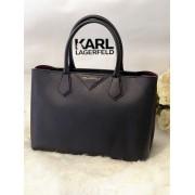 Dámska kabelka KARL LAGERFELD K/Klassik Shopper Black