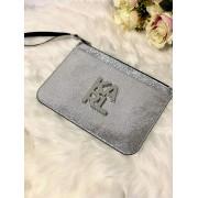 Dámska kabelka Karl Lagerfeld K/Karl Logo Pouch Silver