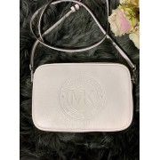Dámska kabelka MICHAEL KORS Fulton Sport Large EW Leather Crossbody Optic White