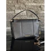 Dámska kabelka MICHAEL KORS Brooke Medium EW Convertible Shoulder Leather Black