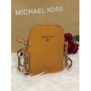 Dámska kabelka Michael Kors Jet Set Charm Phone Crossbody Leather Cider