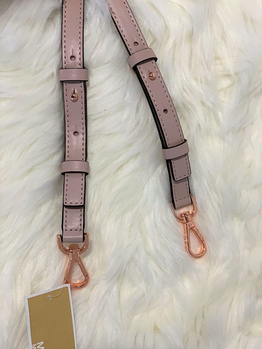 Popruh MICHAEL KORS Guitar Strap Leather Soft Pink