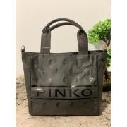 Dámska kabelka Pinko Marisol Shopping Black
