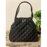 Dámska kabelka Pinko Applicare Shopping Black