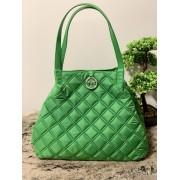 Dámska kabelka Pinko Applicare Shopping Light Green