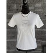 Dámske tričko KARL LAGERFELD Kocktail Oversized White