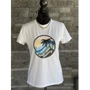 Dámske tričko KARL LAGERFELD Kalifornia White