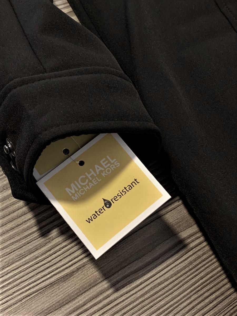 Dámska bunda Michael Kors Soft Sheller Black