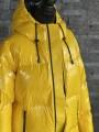 Dámska bunda MICHAEL KORS Ski Logo Zip Bright Dandelion
