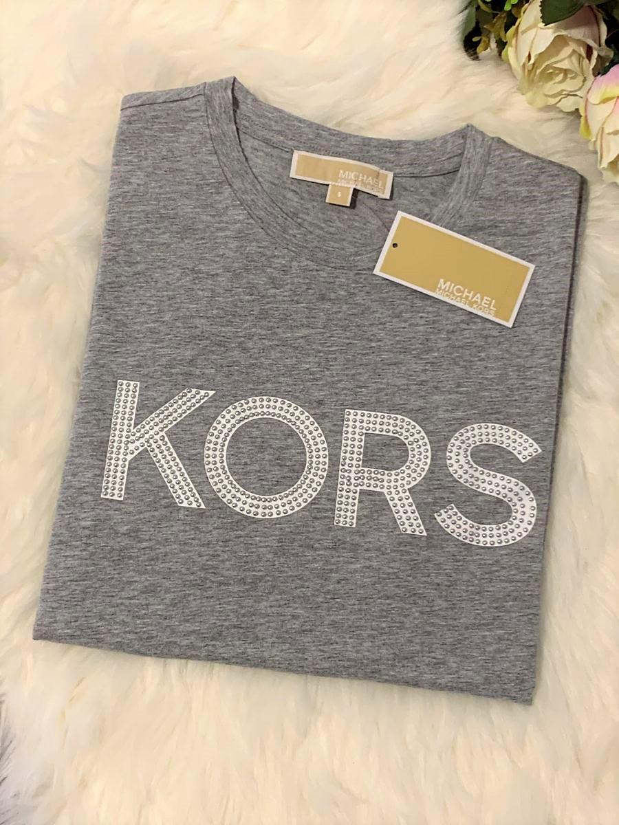 Unisex tričko Michael Kors Fashion Basics Grey