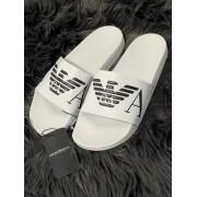 Pánske šľapky EMPORIO ARMANI Beachwear White