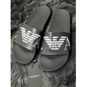 Pánske šľapky EMPORIO ARMANI Beachwear Black
