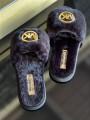 Dámske šľapky MICHAEL KORS Alexis Slide Short Faux Fur Black
